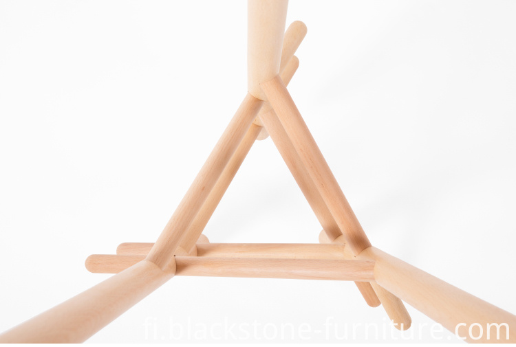 Wood Cloth Stand
