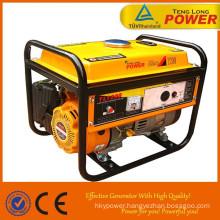 portable 2kw gasoline mini electric generator set
