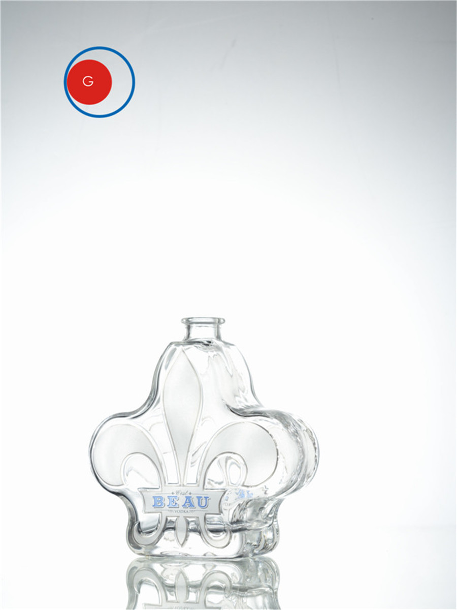 Royal Crown Vodka Bottle