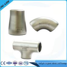 Encaixe de tubo de solda de cotovelo de aço inoxidável 304