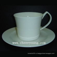 Кофейная чашка и блюдце (CY-B548)