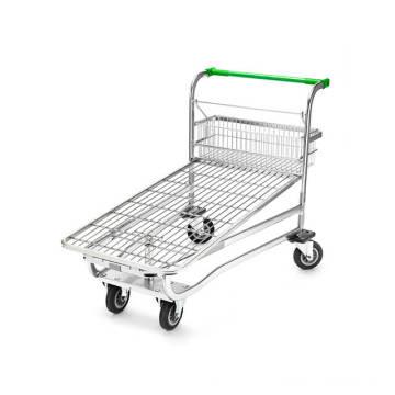 Chariot de chariot à achats de fil de supermarché
