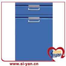 Pvc film pressed cheap kitchen door fronts