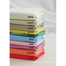 Tc, tissu en popeline de polyester pour chemise, poche
