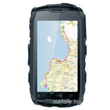 Rugged Smartphone with Android 4.0 OS, WCDMA/GSM, GPS, Walkie Talkie