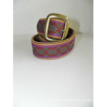 Womens champion belt Embroidered Lucky Brand Leather Belt Large
