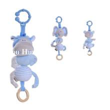 Fábrica de nuevo diseño de los niños rellenos de movimiento musical juguete de peluche