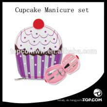 5-tlg. Süße Genuss-Cupcake-Maniküre-Set