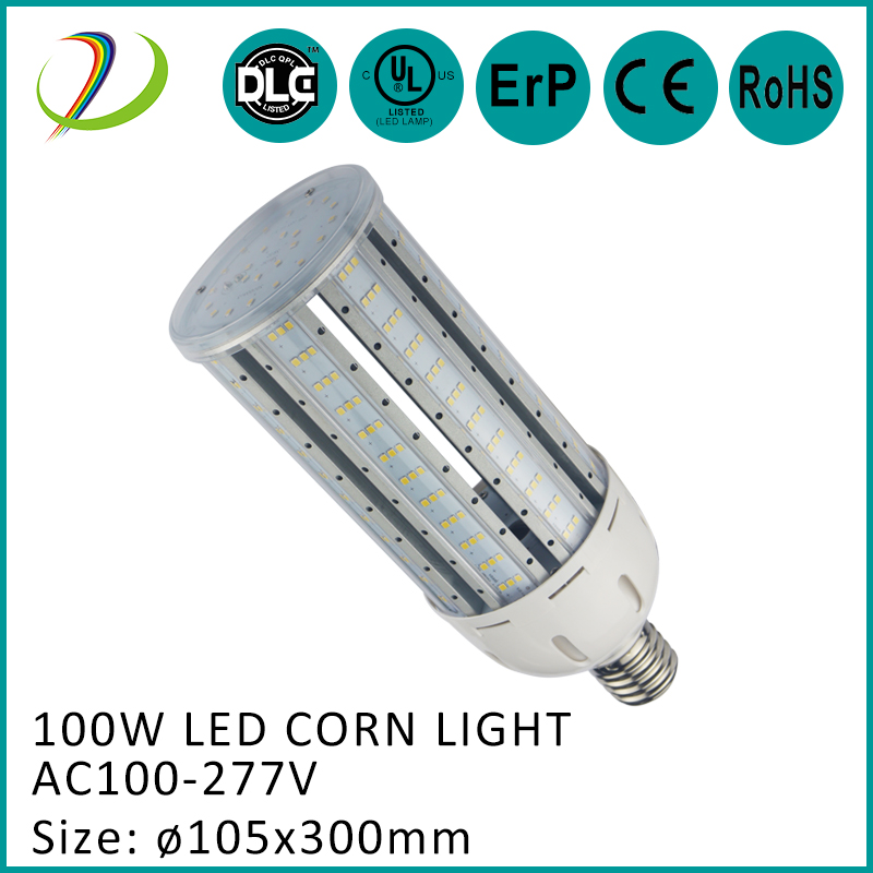 UL DLC approved 100w led corn light