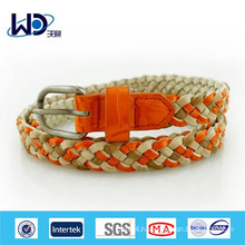 2014 Fall & Winter Handmade PU Braided Belt