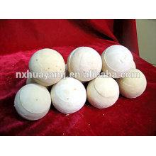 Bola refractaria resistente a altas temperaturas de 40-60mm