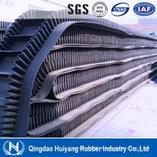 Metallurgie-Industrie-Seitenwand geklemmter Gummi Covneyor-Belting