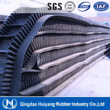 Indústria metalúrgica Sidewall Clutch Rubber Covneyor Belting