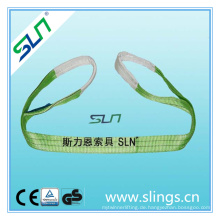 2tx1m 100% Polyester Gurtband Sling mit Sf 6: 1