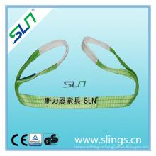2tx1m 100% Polyester Sling Sling avec Sf 6: 1
