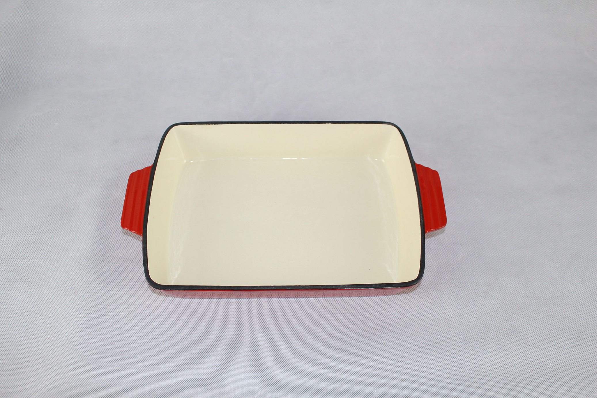 enamel rectangle pan