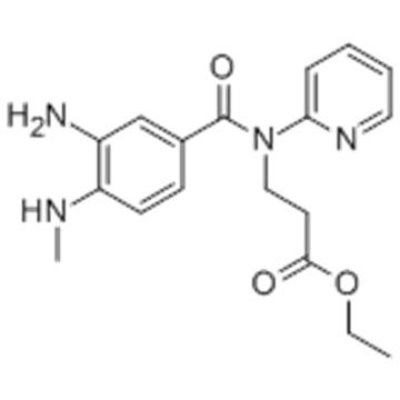 3-[(3-Amino-4-methylaminobenzoyl)pyridin-2-ylamino]propionic acid ethyl ester CAS 212322-56-0