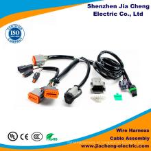 Conjunto de cabo médico do OEM ISO9001 do chicote de fios do fio