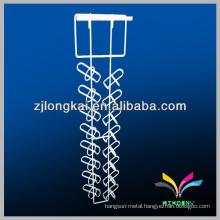 Supermarket Supply white metal hanging wine glass rack