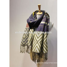 cashmere pashmina,fashion hijab,tassel scarf