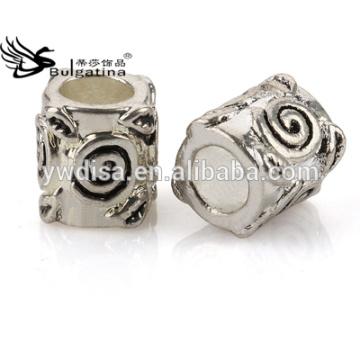 Granos de la aleación del cinc para las pulseras que hacen resultados de la joyería de DIY Latest Design High Quality Polish