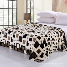 2016 nouveau 100% Polyester Soft Morden Flannel Fleece Blanket