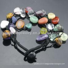 2015 Bracelets extensibles de style Stone Stone Stretch pour femme SB-0232