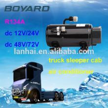 12v ac compressor for auto roof mounted air conditioner with boyard mini dc compressor