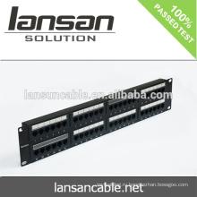 LANSAN Высококачественная коммутационная панель cat5e cat6