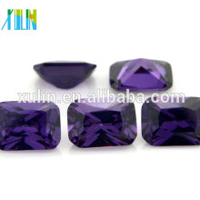AAA Wholesale Amethyst Color Octagon CZ/ Cubic Zirconia