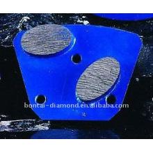 Plaquettes de diamant pour sol en béton