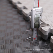 Mushang BlackGrey 40mm Tatami Puzzle-Matten
