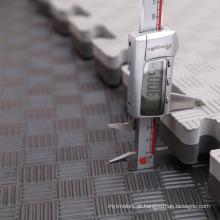 Esteiras de Jigsaw de Mushang BlackGrey 40mm Tatami