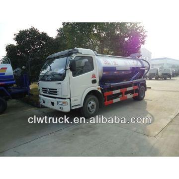 6000L Dongfeng caminhão de sucção de esgoto (120 cv)