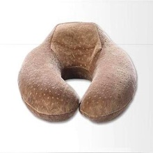 Funny travel neck travel pillow memory foam