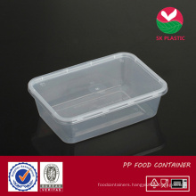 Plastic Food Container (sk 700 with lid)