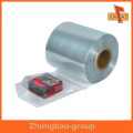 Guangzhou factory custom PVC/PET/POF/PE flexible heat sensitive printed plastic shrink bands in roll