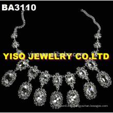 Прозрачные хрустальные ожерелья