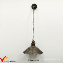 Estilo Industrial Antiguo Tapa Tapa Interior Una Luz Colgante