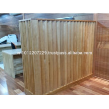Bintangor wood solid / engineering wall panel / Flooring