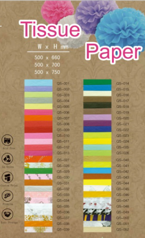 Custom Color Paper