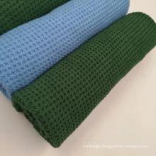 Custom Promotion waffle  microfiber golf waffle towel wholesale workout fitness towel