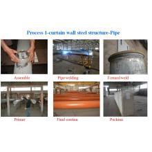 Curtain Wall Steel Structure Fabrication