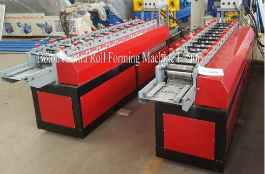 shutter door and door frame machine