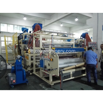 1500mm Guss PE Stretch Film Linie / Cling Film Line