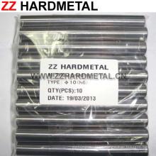 10% de cobalto H6 de pulido fino 330 mm de carburo de tungsteno sólido Rod