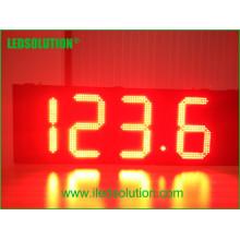 Signe de prix du gaz LED