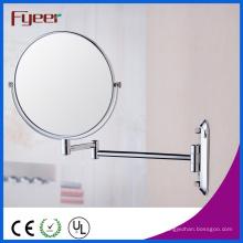 Fyeer haute qualité ronde pliable maquillage miroir mur (M0508)