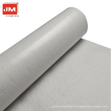 white cotton calico fabric