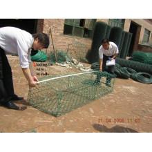 Galvanized Gabion/Gabion Basket/ PVC Coated Gabion Box
